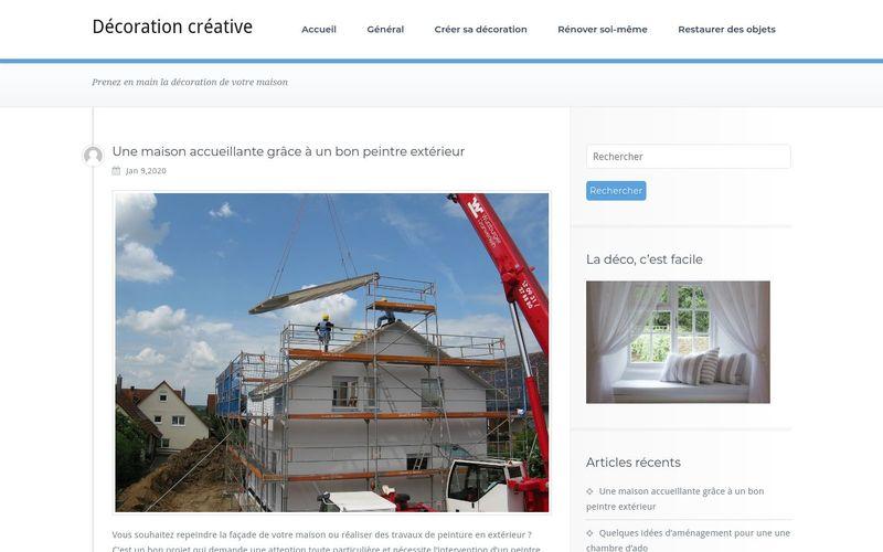 Décoration créative - Prenez en main la décoration de votre maison