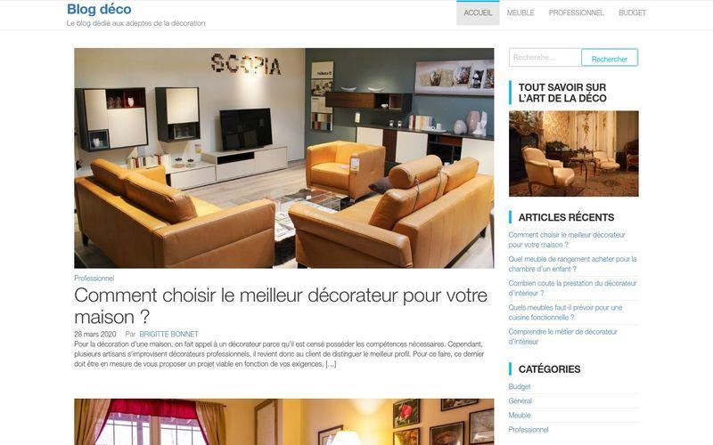 Blog déco - Le blog dédié aux adeptes de la décoration